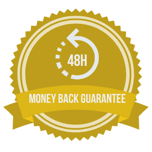 48 hour money back guarantee